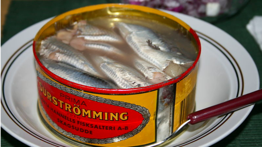 Eat2Gather WEETje wat Surströmming is?