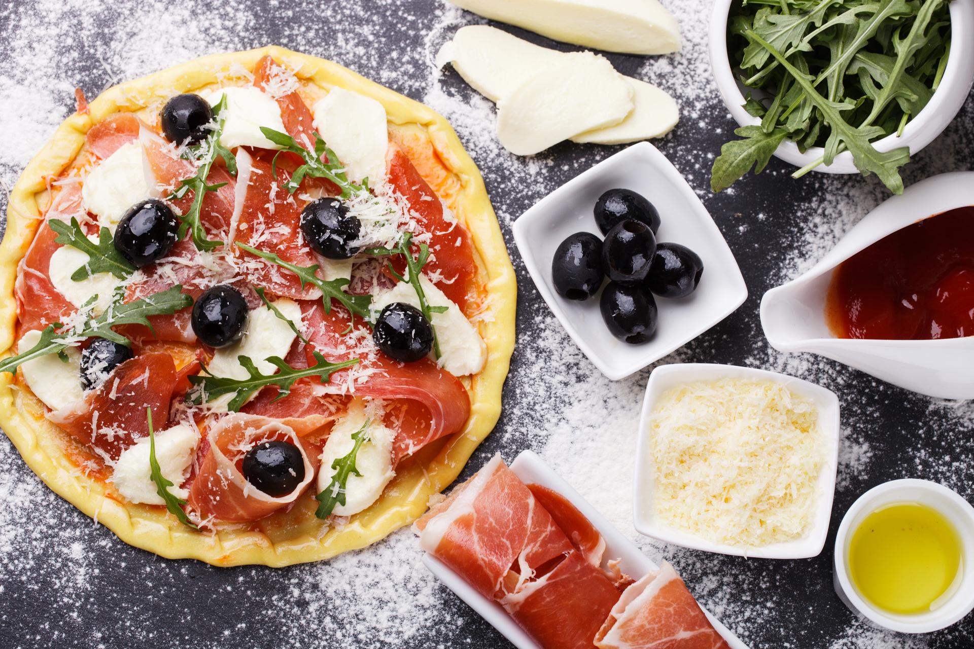 Eat2Gather W-EET-je welke ingrediënten wij het liefst op onze pizza doen?