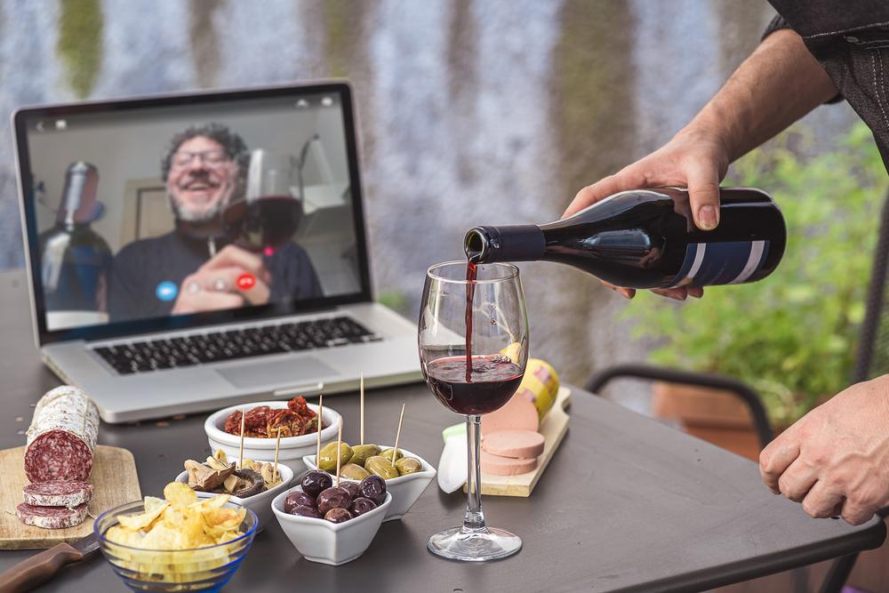 Eat2Gather online wijnproeverij
