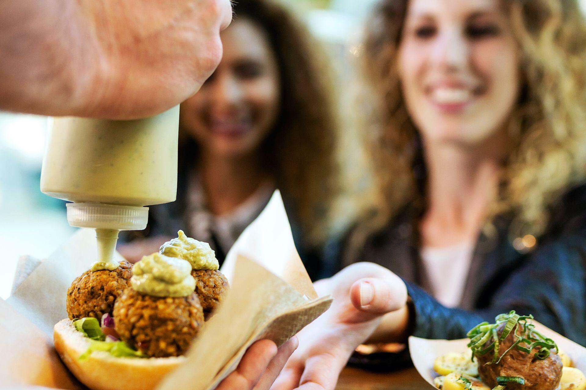 Eat2Gather Food walk corona proof take-away